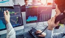 Ilustrasi perdagangan pialang saham berjangka