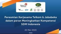 Penandatanganan MoU secara Virtual antara Jababeka Group dan Telkom soal Pengembangan Kompetensi Kerja Bagi Milenial