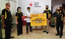 Ketua PMI JK Terima Donasi APD dari MR. DIY untuk Operasi Darurat Covid-19