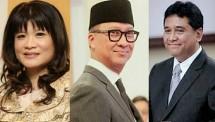 Waketum KADIN Shinta Sukamdani, Menperin Agus Gumiwang, Ketua Apindo Haryadi Sukamdani