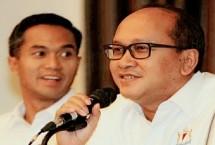Ketum Kadin Indonesia Rosan P Roeslani dan Waketum KADIN Anindya Bakrie (ist)