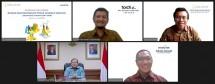 Suasana konferensi pers virtual Dampak Sosial dan Ekonomi Fintech Lending di Indonesia (Studi Kasus Investree 2017-2019). (Foto: Humas Investree)