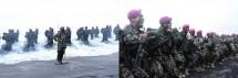 186 Prajurit Muda Resmi Menyandang Baret Ungu Kebanggaan Korps Marinir