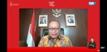 Agus Susanto, Direktur Utama BPJAMSOSTEK pada acara dialog Forum Merdeka Barat (FMB) 9
