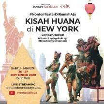 Pementasan Ala Broadway dalam Kisah Huana di New York