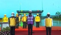 Presiden Jokowi Resmikan Tol Pekanbaru-Dumai Secara Virtual