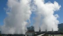 Ilustrasi energi panas bumi