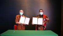 Kegiatan MoU PT Indra Karya (Persero) dan Yayasan Air Adhi Eka di Kementerian PUPR