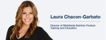 Director of Worldwide Nutrition Product Training, Herbalife Nutrition, Laura Chacon-Garbato