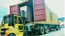 PT. Pampas - Nextron Teknologi Indonesia lepas ekspor kedua kali untuk produk Set Top Box sebanyak empat kontainer (40.400 unit atau senilai USD705.309) ke Brasil