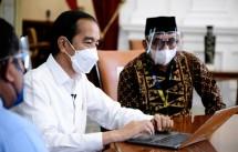 Presiden Jokowi Lapor SPT Pajak Secara Online