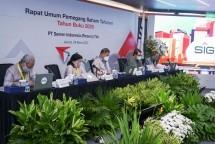 PT Semen Indonesia (Persero) Tbk (SIG) Indonesia hari ini menyelenggarakan Rapat Umum Pemegang Saham Tahunan 2021 di Jakarta