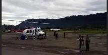 Helikopter milik PT Ersa Eastern Aviation