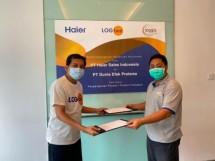 Haier Sales Indonesia dan Logbee