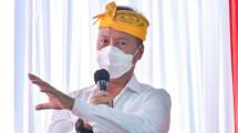 Menteri Perindustrian Agus Gumiwang Kartasasmita