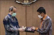 Pemerintah Indonesia melalui Kementerian Pariwisata dan Ekonomi Kreatif/Badan Pariwisata dan Ekonomi Kreatif Memperkuat Kerjasama Sektor Pariwisata dan Ekonomi Kreatif dengan Iran (Dok: Kemenparekraf)