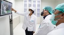 Kunjungan Erick Thohir ke Biofarma