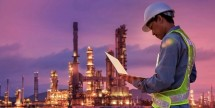 Oil refinery build with use of technology