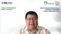 Executive Director Dexa Laboratories of Biomolecular Sciences, Dr. Raymond Tjandrawinata