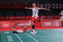 Rasa syukur dan terima kasih diungkapkan Menteri Pemuda dan Olahraga (Menpora RI) Zainudin Amali atas persembahan medali emas dari ganda putri bulutangkis Indonesia Greysia Polii/Apriyani Rahayu di Olimpiade Tokyo 2020.(foto:nocindonesia)