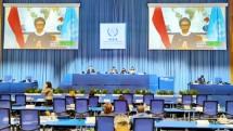 Menlu Retno Dihadapan Delegasi IAEA