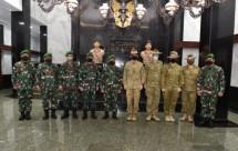 Wakasad Letjen TNI Bakti Agus Fadjari Terima Kunjungan Panglima Divisi I AD Australia