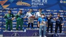 Prajurit Yonkomlek 2 Mar Peroleh Medali PON XX Papua