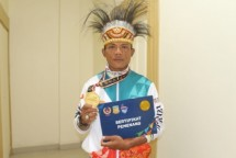 Prajurit Yonmarhanlan X Jayapura Raih Emas Cabor Selam PON XX Papua