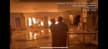 Ini kondisi saat kejadian, api berhasil dipadamkan oleh damkar sebelum menjalar ke gudang sicepat.