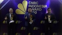 Telkom Boyong Tiga Penghargaan di ajang CNBC Indonesia Award 2020