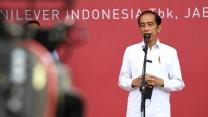 Presiden Jokowi Tinjau Vaksinasi Gotong Royong Perdana di Jababeka Cikarang